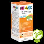 Pédiakid 22 Vitamines Et Oligo-eléments Sirop Abricot Orange 250ml à Mérignac