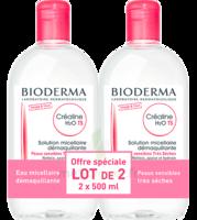 CREALINE TS H2O Solution micellaire sans parfum nettoyante apaisante 2Fl/500ml à Mérignac