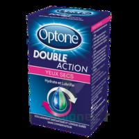 Optone Double Action Solution Oculaire Yeux Secs Fl/10ml à Mérignac