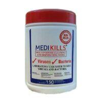 MEDIKILLS Lingettes virucides médicales et alimentaires B/150 à Mérignac