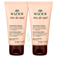Rêve De Miel® Crème Mains Et Ongles 2*50ml à Mérignac
