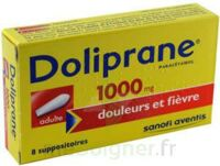 DOLIPRANE 1000 mg Suppositoires adulte 2Plq/4 (8) à Mérignac