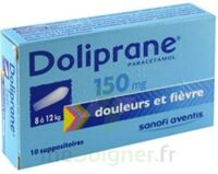 DOLIPRANE 150 mg Suppositoires 2Plq/5 (10) à Mérignac