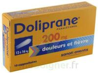 DOLIPRANE 200 mg Suppositoires 2Plq/5 (10) à Mérignac