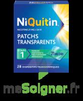 NIQUITIN 21 mg/24 heures, dispositif transdermique Sach/28 à Mérignac