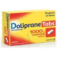 DOLIPRANETABS 1000 mg Comprimés pelliculés Plq/8 à Mérignac