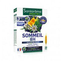 Santarome Bio Sommeil 8H Solution buvable 20 Ampoules/10ml à Mérignac