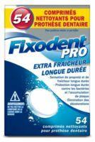 Fixodent Pro Comprimés Nettoyant Fraîcheur Longue Durée pour Prothèse Dentaire B/54 à Mérignac