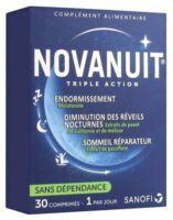 Novanuit Triple Action Comprimés B/30 à Mérignac