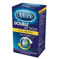 Optone Double Action Solution Oculaire Yeux Irrités Fl/10ml à Mérignac