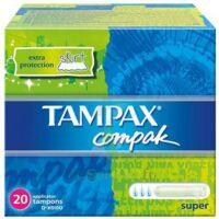TAMPAX COMPAK SUPER x 20 à Mérignac