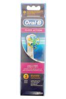 Brossette De Rechange Oral-b Floss Action X 3 à Mérignac