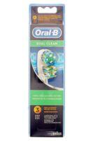 Brossette De Rechange Oral-b Dual Clean X 3 à Mérignac