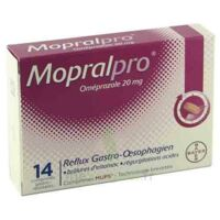MOPRALPRO 20 mg Cpr gastro-rés Film/14 à Mérignac