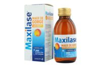 MAXILASE MAUX DE GORGE ALPHA-AMYLASE 200 U.CEIP/ml, sirop Fl/125ml à Mérignac
