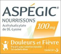ASPEGIC NOURRISSONS 100 mg, poudre pour solution buvable en sachet-dose à Mérignac