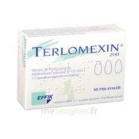 Terlomexin 200 Mg, Capsule Molle Vaginale à Mérignac