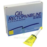 RECTOPANBILINE Gel rectal mini-lavement 6Tcan/6g à Mérignac