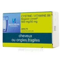 CYSTINE/VITAMINE B6 BIOGARAN CONSEIL 500 mg/50 mg Cpr pell Plq/120 à Mérignac