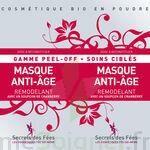 Secrets des Fées Masque Anti-Age Remodelant Peel-Off à Mérignac