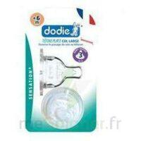 DODIE SENSATION+ Tétine plate débit 2 silicone 0-6mois à Mérignac