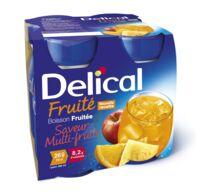 DELICAL BOISSON FRUITEE Nutriment multi fruits 4Bouteilles/200ml à Mérignac