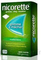NICORETTE 2 mg Gom à mâcher médic sans sucre menthe fraîche Plq/30gom à Mérignac
