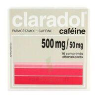 CLARADOL CAFEINE 500 mg/50 mg, comprimé effervescent à Mérignac