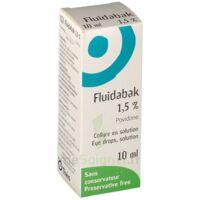 FLUIDABAK 1,5 %, collyre en solution à Mérignac