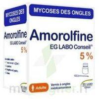 Amorolfine Eg Labo Conseil 5 %, Vernis à Ongles Médicamenteux à Mérignac