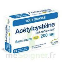 Acetylcysteine Eg Labo Conseil 200 Mg Sans Sucre, Poudre Pour Solution Buvable En Sachet-dose à Mérignac