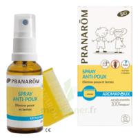Pranarôm Aromapoux Bio Spray anti-poux 30ml+peigne à Mérignac