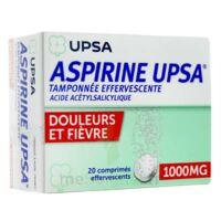 ASPIRINE UPSA TAMPONNEE EFFERVESCENTE 1000 mg, comprimé effervescent à Mérignac