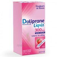 Dolipraneliquiz 300 mg Suspension buvable en sachet sans sucre édulcorée au maltitol liquide et au sorbitol B/12 à Mérignac