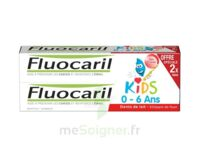 Fluocaril Kids Gel dentifrice Fraise 0/6ans 2*50ml à Mérignac