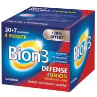 Bion 3 Défense Junior Comprimés à croquer framboise B/30+7 à Mérignac