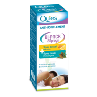Quies Bi-Pack 2 Sprays buccal et nasale anti-ronflement à Mérignac
