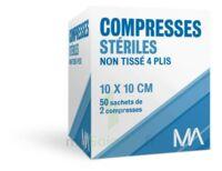 Marque Conseil Compresse stérile non tissé 10x10cm 50 Sachets/2 à Mérignac