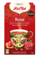 Yogi Tea Thé Tao Tea Rose Bio 17 Sachets à Mérignac