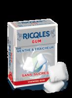 Ricqles Gum Chew gum dragée sans sucre blancheur hygiène B/24g à Mérignac