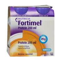 Fortimel Protein Nutriment caramel 4 Bouteilles/200ml à Mérignac