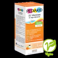 Pédiakid 22 Vitamines et Oligo-Eléments Sirop abricot orange 125ml à Mérignac