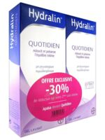 Hydralin Quotidien Gel lavant usage intime 2*200ml à Mérignac
