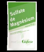 Gifrer Magnésium Sulfate Poudre 50 Sachets/30g à Mérignac