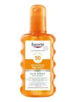 Eucerin Sun Sensitive Protect Spf50 Spray Transparent Corps 200ml à Mérignac