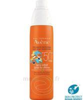 Avène Eau Thermale Solaire Spray Enfant 50+ 200ml à Mérignac