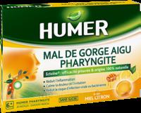 Humer Pharyngite Pastille Mal De Gorge Miel Citron B/20 à Mérignac